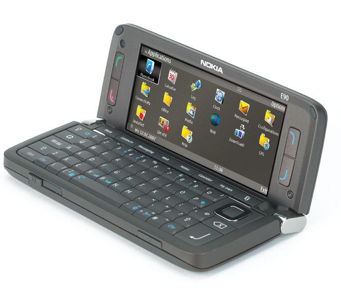 Nokia E90 Communicator WiFi unlocked GPS GSM 2G 3G 8GB ...